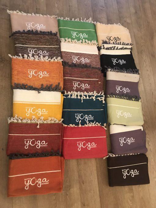Tapis coton rug mysore yoga